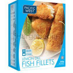 Pacific West Lemon Dill Fish Fillets 240gm