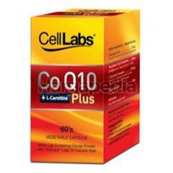 Celllabs Co Q10 + L-Carnitine Plus 60s