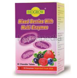 Biogrow Mixed Berries with Multi Enzymes 60s