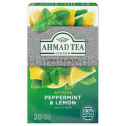 Ahmad Tea Infusion Peppermint & Lemon 20s