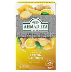 Ahmad Tea Infusion Lemon & Ginger 20s