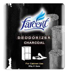 Farcent Deodorizer Shoe Cabinet Charcoal  2x60gm