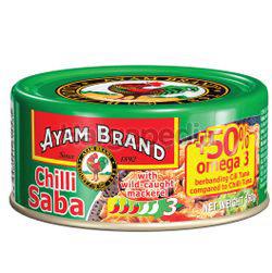 Ayam Brand Canned Saba Chilli 160gm