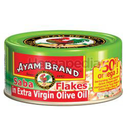 Ayam Brand Canned Saba Flakes In Extra Virgin OIl 160gm