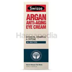 Swisse Argan Anti-Ageing Eye Cream 15ml
