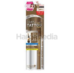 K-Palette Lasting 2Way Eyebrow Liquid WP 1s