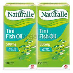 Naturalle Tini Fish Oil 500mg 2x150s