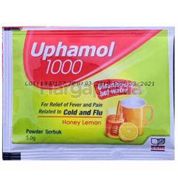 Uphamol 1000 Cold And Flu Honey Lemon 1s