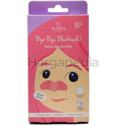 Au Fairy Bye Bye Blackheads Berry Nose Pore Strip 10s