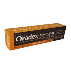 Oradex Charcoal Toothpaste Cinnamon 50gm