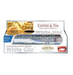 White Glo Coffee & Tea Toothpaste 150gm