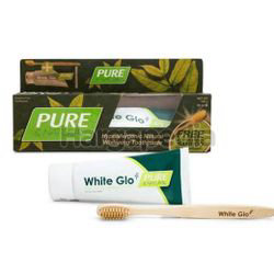 White Glo Pure & Natural Toothpaste 120gm