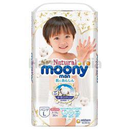 Moonyman Natural Diaper Pants L36