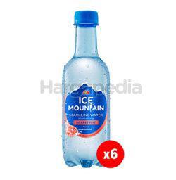 Ice Mountain Sparkling Water Grapefruit 6x350ml