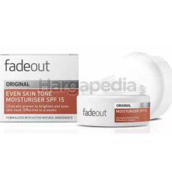 Fade Out Advance Whitening Original Cream SPF15 50ml