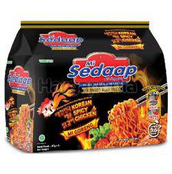 Mi Sedaap Korean Spicy 5x87gm