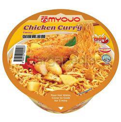 Myojo Bowl Noodle Chicken Curry 80gm