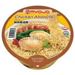 Myojo Bowl Noodle Chicken Abalone 80gm