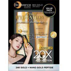 Bio-Essence 24k Bio-Gold Gold Water 150ml + Skin Radiance Cleanser 100gm