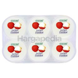 Cocon Lychee Pudding 6x80gm