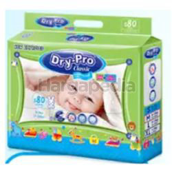 Dry-Pro Classic Baby Tape Diapers S80