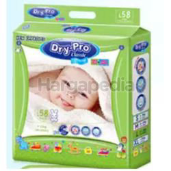Dry-Pro Classic Baby Tape Diapers L58