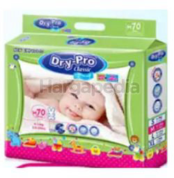 Dry-Pro Classic Baby Tape Diapers M70