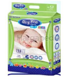 Dry-Pro Classic Baby Tape Diapers XL52