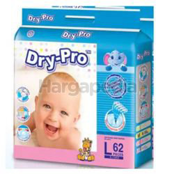 Dry-Pro Baby Tape Diapers L62