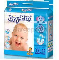 Dry-Pro Baby Tape Diapers XXL42