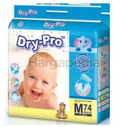 Dry-Pro Baby Tape Diapers M74