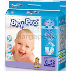 Dry-Pro Baby Tape Diapers XL52