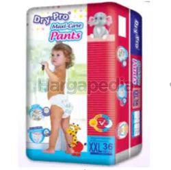 Dry-Pro Baby Pants Diapers XXL36