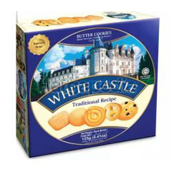 Torto White Castle Butter Cookies 125gm
