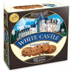 White Castle Chocolate Chips Cookies 125gm