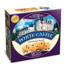 White Castle Currant Butter Cookies 125gm