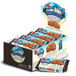 White Castle Chocolate Chips Cookies 12x40gm