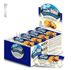 White Castle Butter Cookies 12x45gm