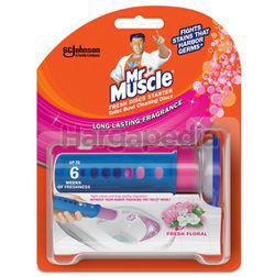 Mr Muscle Fresh Disc Starter Pack Fresh Floral 38gm