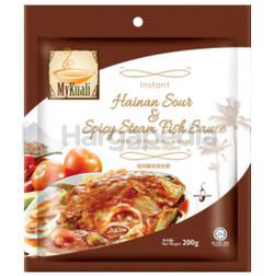 My Kuali Instant Hainan Sour & Spicy Steam Fish Paste 200gm