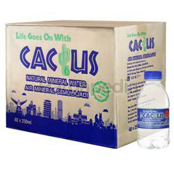 Cactus Mineral Water 48x250ml