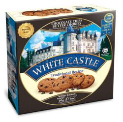 White Castle Chocolate Chips Butter Cookie 90gm