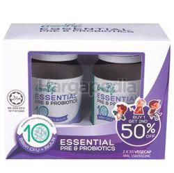 Greenlife Essential Pre & Probiotics 10 Billion CFU 2x30s