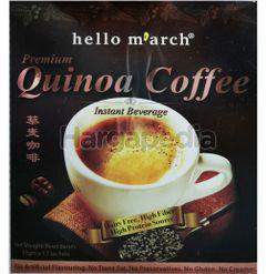 Hello March Premium Quinoa Coffee 12x30gm
