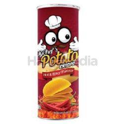 Mychef's Hot & Spicy Potato Crisps 160gm