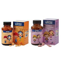 Citrex Junior Vitamin C Blackcurrant/ Orange 30s