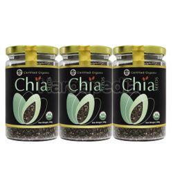 Country Farm Organic Super-Food Chia Seed (2+1)x300gm