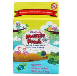 Meditots Mozzie Pouch Refresh & Repel 3s
