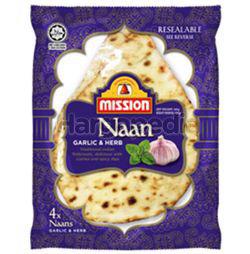 Mission Naan Garlic & Herbs 320gm
