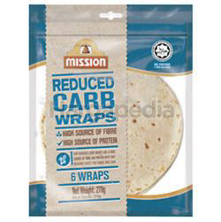 Mission Reduced Carb Wraps 270gm